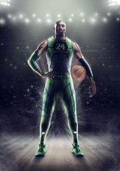 Kobe Bryant in the Nike Kobe 8 System Elite