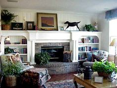 Beautiful! This would be a great project to cover an existing brick fireplace.