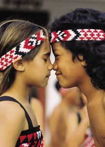 """A hongi is a traditional Māori greeting in #NewZealand. It is done by pressing one's nose and forehead (at the same time) to another person at an encounter. By agreeing to do a hongi, in tradition, the #Maori will eliminate the possibility of you being a stranger or threat or what they call 'Manuhiri' and now you are part of the land or 'Tangata Whenua'. The literal meaning of """"hongi"""" is the """"sharing of breath."""""""