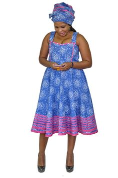 Use the Three Leopards Contemporary Collection to create striking dresses for women. Model Dress Batik, Batik Dress, African Wear, African Dress, Pedi Traditional Attire, South African Traditional Dresses, Shweshwe Dresses, Short Dresses, Summer Dresses