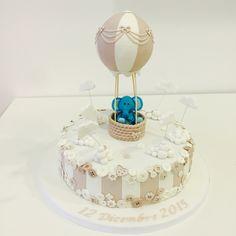 Hot air balloon cake torta mongolfiera