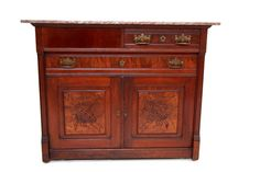 Gorgeous Antique French Country Mahogany Buffet Sideboard Granite Top on rollers Sideboard Cabinet, Cabinet Doors, Antique Bookcase, Granite Tops, French Country, Teak, Rollers, The Originals, Storage