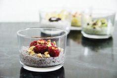 Acai Chia Pudding for breakfast, anyone?