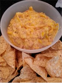 Squash Dip  6 c. water Salt to taste 8 yellow squash, sliced 1 T onion powder or 1 onion, sliced 1 lb. mild turkey sausage 1 can cream of mushroom soup 16 oz. Mexican flavored cheese Tortilla Chips  Click Here for the complete recipe:  http://www.q99fm.com/BreakfastClub/FDT2014.aspx