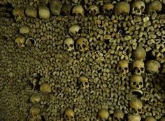 Visited the Catacombs last week in Paris. The Catacombs, Mind Blown, Creepy Stuff, Graveyards, France, Voici, Bleach, Scotland, Thailand