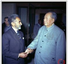 This was right before the historical meeting of President Nixon and Mao. The number two person of China of the time Zhou Enlai flew to Asmara to invite the Emperor in person to meet Mao. The western press was full of rumors then that Mao has died - These photos and the Emperor's confirmation of their meeting killed that rumor.
