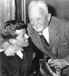 JFK and Grandfather, Honey Fitz.