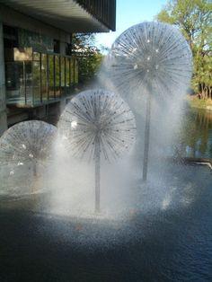 Fountain - Like a mini Kings Cross in Sydney.