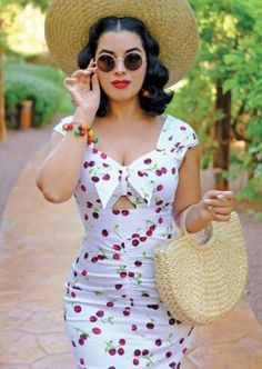 Stop Staring ALL MINE Dress, WHCHR, SPRING SUMMER 2018 The Effective Pictures We Offer You About short pinup dresses A quality picture can tell you many things. 1950s Outfits, Pin Up Outfits, Pin Up Dresses, Sexy Dresses, Vintage Dresses, Vintage Outfits, Cute Outfits, Vintage Fashion, Fashion Outfits