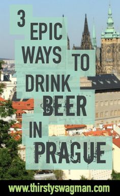 """Prague, glorious city that it is, is often referred to as the """"beer capital of the world"""" and rightfully so—a lot of what we drink today has origins in Czech beer brewing. History, however, isn't the only factor that goes into this distinction. Sure, Czech brewing has been around since the 10th century. And sure, this is whom we can all thank for those golden pilsners after a hard day's work. But did you know the Czech Republic is also the beer drinking capital with higher beer consumption…"""