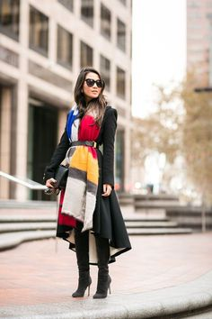 5 Street Style Hacks to Master this Fall- Cinch your blazer or coat with a great belt | Greige/Market