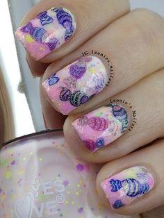 Candy #nailcrazyinfeb - Leonie's Nailart