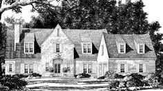 Looking for the best house plans? Check out the Sheffield Place plan from Southern Living. House Plans Mansion, Cottage House Plans, Cottage Homes, Cottage Style, Best House Plans, Dream House Plans, House Floor Plans, Dream Houses, Brick Cottage