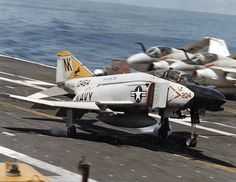 1981 F4 Phantom USN VF-21 USS Coral Sea. I was in this squadron and on this…