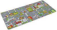 Tapis de jeu circuit pour voiture 150 x 80 cm: Amazon.fr: Jeux et Jouets