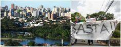 Em Londrina, não tinha quem segurasse faixa no protesto anti-Dilma