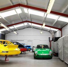 the garage of my dreams..
