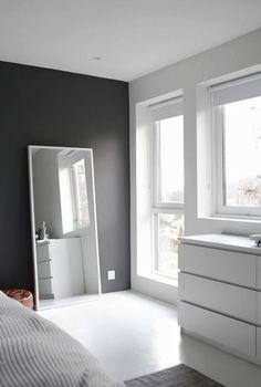 Grijs in de slaapkamer. Vonk interieur & design
