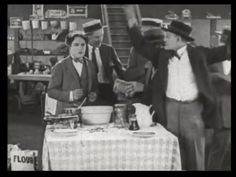 84. The customers abandon the demonstrator. | Fast and Furious (1924)