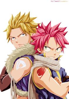 Sting and Natsu ~ Fairy Tail Image Fairy Tail, Fairy Tail Love, Fairy Tail Anime, Fairy Tail Sting, Fairytail, Gruvia, Anime Love, Me Me Me Anime, Anime Guys