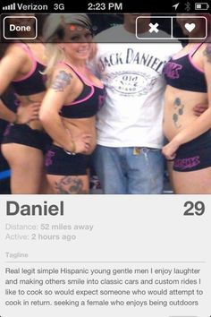 The best of Tinder. Which, is really the worst of Tinder.