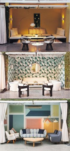KELLY WEARSTLER | INTERIORS. Cabana at the Avalon Hotel Beverly Hills through the ages