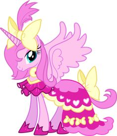 My Little Pony Friendship Is Magic Princess | ... Princess Luna pink makeover-This is so wrong, Luna looks way better in her regular black and blue color
