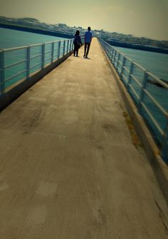 Spiraling pier