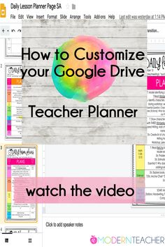 Teacher binder organization just got better! With UPDATED PLANNERS Every Single Year, this One Stop Teacher Planner has everything you need for classroom organ Google Classroom, School Classroom, Classroom Decor, Flipped Classroom, Future Classroom, Teacher Binder, Teacher Organization, Teacher Stuff, Teacher Planner Free