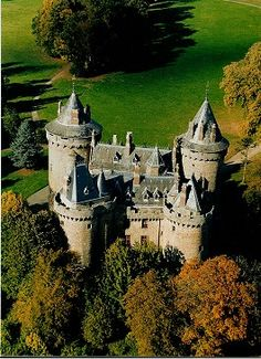 Chàteau de Combourg, Haute Bretagne, France. One of the tower is said to be haunted by a pegleg ghost #castle