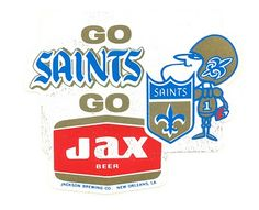 Tulane University's Louisiana Research Collection: New Orleans Saints and Jax Brewery