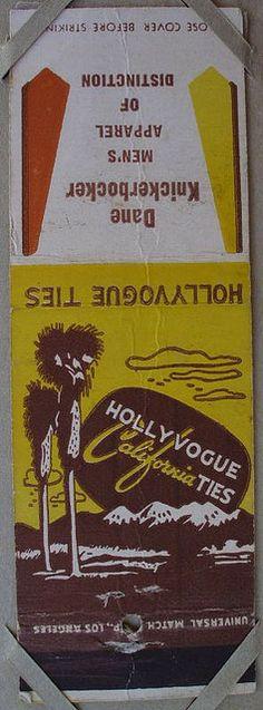 Hollyvogue California Ties, Dane Knickerbocker Men's Apparel
