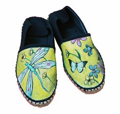 scarpe personalizzate, converse, vans dipinte a mano - Pezzi unici | Espadrillas