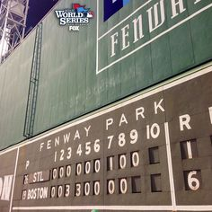 Boston Red Sox win the World Series!