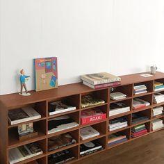 Desk Shelves, Bookcase, Cafe Interior, Interior Design, My Room, Magazine Rack, Oriental, Studio, House Styles
