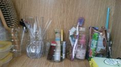 #dorm #organization #diy #collage #bottle