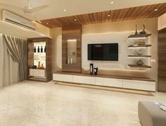 Wooden Ceiling Design, House Ceiling Design, Ceiling Design Living Room, Bedroom False Ceiling Design, Tv Wall Design, Living Room Designs, False Ceiling Living Room, Tv Unit Furniture Design, Tv Unit Interior Design
