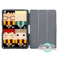 14.99$  Buy here - http://ali43j.shopchina.info/1/go.php?t=32800107350 - Harry Potter Ron Weasley Hermione Granger Smart Cover Case For Apple iPad Mini 1 2 3 4 Air Pro 9.7  #buyonlinewebsite