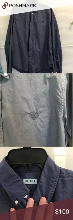 Kenzo tiger shirt,slim fit Only wear once Kenzo Shirts Casual Button Down Shirts
