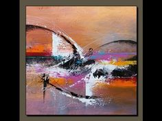 Realización acelerada de un cuadro abstracto - Digitalis por John Beckley - YouTube