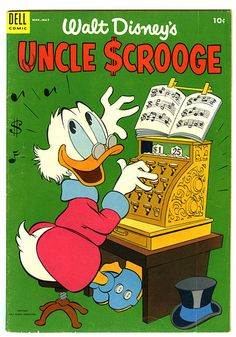 Scrooge cover by Bradamonte