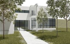 Bauhaus Bauhaus Style, Garage Doors, Explore, Outdoor Decor, Home Decor, Decoration Home, Room Decor, Home Interior Design, Carriage Doors
