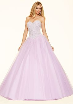 Wishesbridal Lilac Sweetheart #Tulle Ball Gown #PromDress Cpa0184