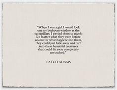 i love patch adams.