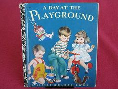 Vintage LGB A Day at The PLAYGROUND Eloise WILKIN RARE
