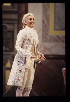 """Frederica von Stade in """"Der Rosenkavalier"""" by Richard Strauss, SF Opera, 1993 Summer"""