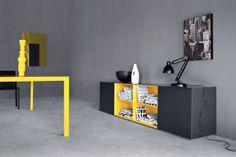 sistema modulare | madie | modello Spazio Giorno | Pianca design made in italy mobili furniture casa home giorno living notte night