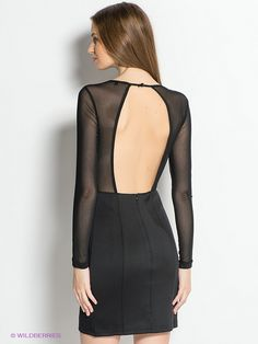 Платье TOM FARR. Цвет черный.