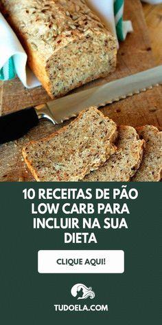 Se você optou pela dieta low carb ou simplesmente quer reduzir a quantidade de carboidratos para emagrecer e ter uma melhor qualidade de vida, não precisa abrir mão de seu pãozinho no café da manhã ou mesmo de um delicioso sanduíche.