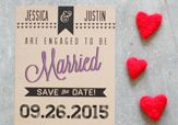 Save The Dates - The Wedding Chicks *Numerous options to choose from. Pin now to read later! Diy Save The Dates, Wedding Save The Dates, Save The Date Cards, Our Wedding, Wedding Ideas, Free Wedding, Autumn Wedding, Wedding Stuff, Wedding Inspiration